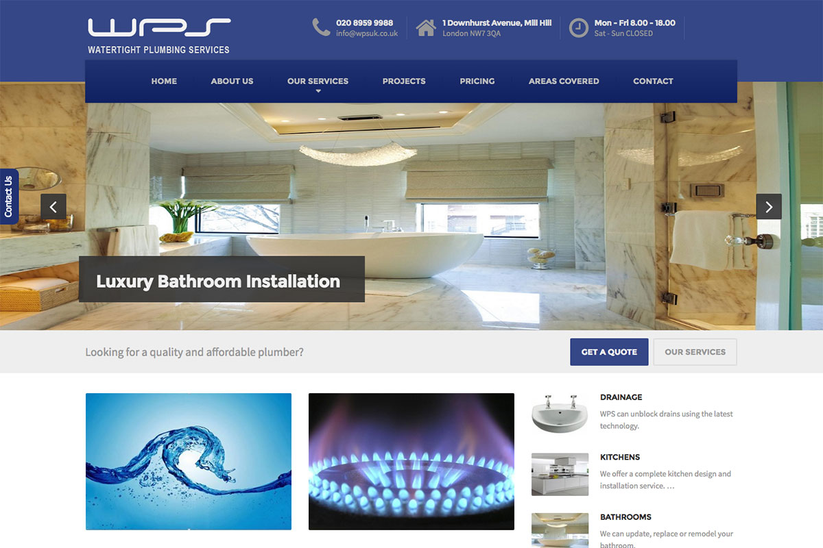 Watertight Plumbing Services
